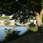 Vue du pont de Joigny