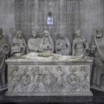 Vue du tombeau église Saint-Jean Joigny